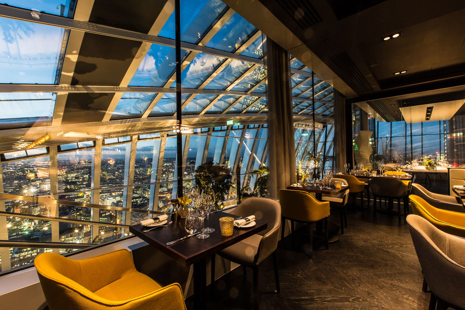 London restaurant of the week fenchurch british gq