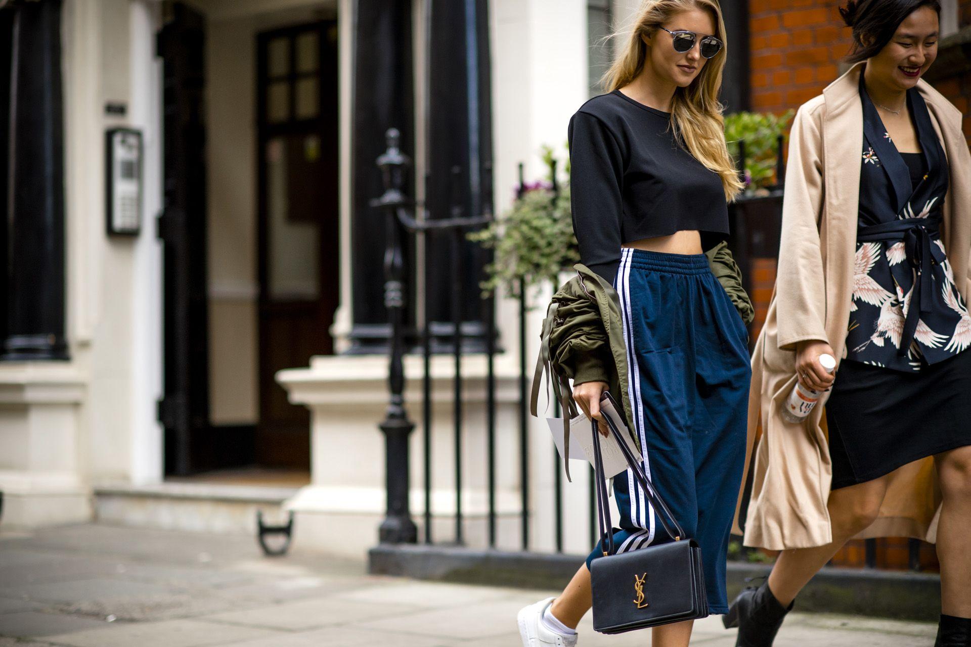 Street Style From London Fashion Week Women 39 S Aw17