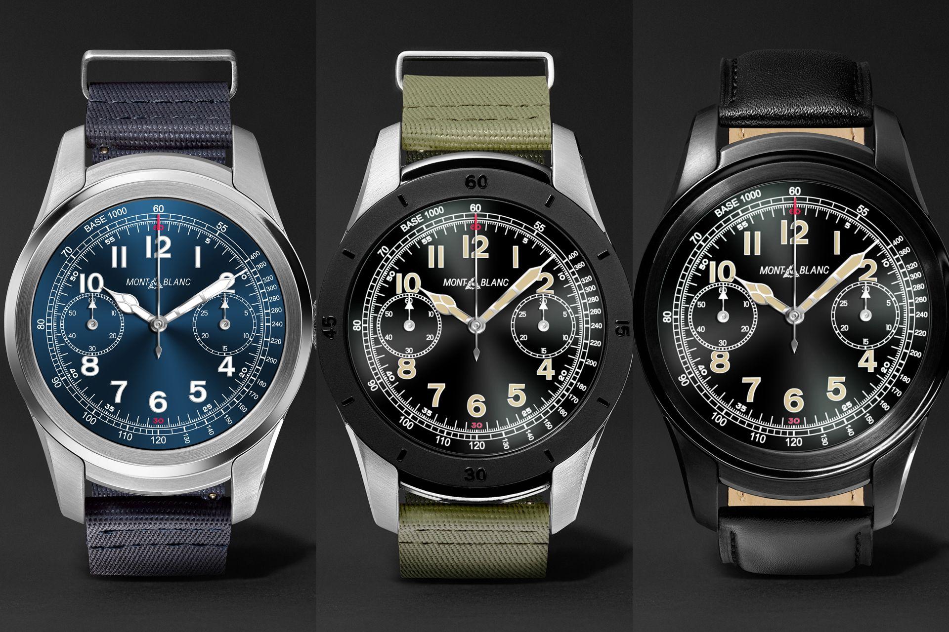 Exclusive Montblanc Summit smartwatch launch